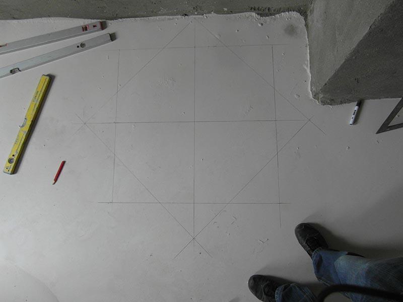 alap és tető felrajzolása